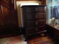 Stag Four Drawer Bedside Cabinet