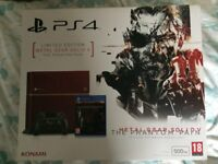 Sony PlayStation 4 500GB Console (Metal Gear Solid The Phantom Pain, Limited edition console)