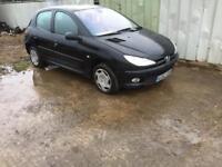 Peugeot 206 1.4 HDI Diesel. 2002 Spares Or Repairs. Runs and drives