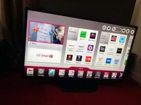 47 inches LG smart tv with Remote in perfect working condition