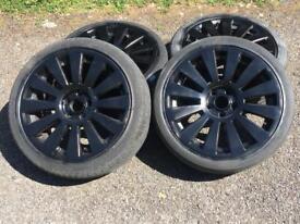 Audi Rs8 5x112 wheels - black