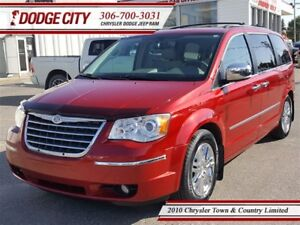 2010 Chrysler Town & Country Limited | FWD | PST PAID - Leather,