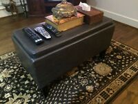 Foot stool/storage table (good condition)