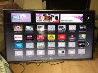 "48""PANASONIC SMART 3D FHD WIFI EXCELLENT CONDITION PERFECT WORKING ORDER TV CAN DELIVER"