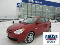 2010 Hyundai Accent GL! ONLY 78 KM! Trade-In! $ave!