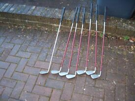 Ping G15 irions with regular grahite shafts