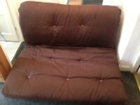 Clean double sofa bed futon