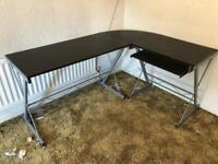 'L' Shaped Corner computed desk (black) for sale  Southampton, Hampshire