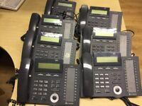 LG Nortel ipLDK LDP-7024D LCD Display Desktop Phones Business Telephone LDK
