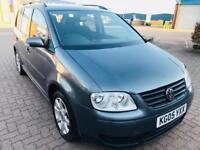 **VW TOURAN 1.9 DIESEL** ONE YEAR MOT**RECENTLY SERVICED, 7SEATER***