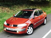 2006 Renault Megane 1.9 DCI 130bhp 4 door saloon. trade in considered, credit cards accepted.