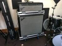 Fender Bassman 100T Amp and Fender Bassman 410 NEO Cabinet