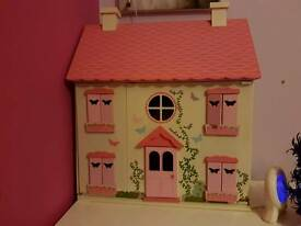 Asda Used Wooden House with furniture