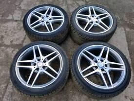 """Genuine 18"""" AMG alloy wheels"""