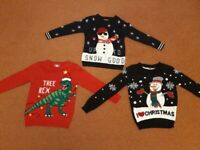 Boys Christmas Jumper Selection – Collection Only