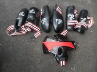 Full Taekwondo sparing equipment