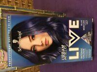 U67 BLUE HAIR DYE-by LIVE