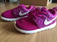 Pink Nike toddler girl trainers