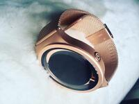 ZIIIRO Eclipse - designer watch - Rose Gold