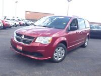 2011 Dodge Grand Caravan FULL STOW N GO***3 ZONE CLIMATE***