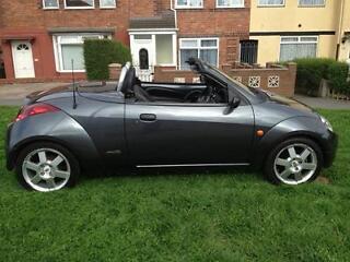 used ford ka convertible roadster 1 6i for sale on craigslist. Black Bedroom Furniture Sets. Home Design Ideas