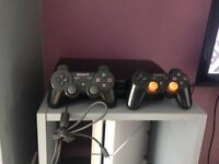 PlayStation 3 bundle 2x controllers and 22 games!!