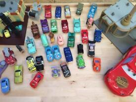 Disney Cars toy lot