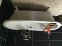 Brand new White roll top bath