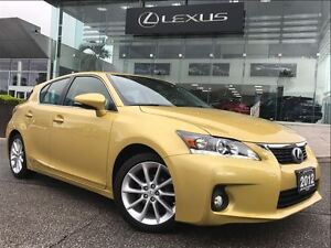2012 Lexus CT 200h Premium PkgBackUp Cam Leather Sunroof Bluetoo