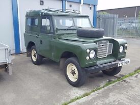 1982 landrover 88 4cylinder fitted fold up rear seats very tidy no vat