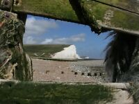Walk with your sketchbook. Day workshop at Seaford Head and Hope Gap on Saturday 30th July