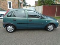VAUXHALL CORSA 1.2, low mileage,1 owner, f.s.h, 12 months m.o.t £695