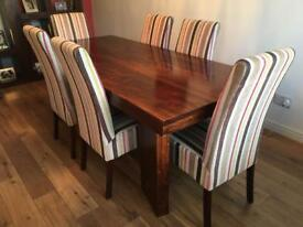 Dinning room Table, Chairs, Bench & Units