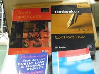 4 QUALITY LAW BOOKS COST £80 CAN DELIVER