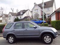 SPRING/SUMMER SALE! (2004) HONDA CR-V i-VTEC SE Sport 4WD 11 HONDA STAMPS FREE DELIVERY/MOT/TAX/FUEL