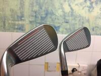 Cobra AMP 5 and 4 iron