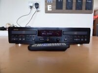 Stunning Denon CDR-W1500 Twin CD Recorder - Very High End Audio - Works Perfectly with Remote