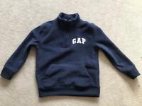 Kids Gap tracksuit top - size small
