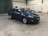 2011 Vauxhall Astra Sri automatic 2.0cdti low miles guaranteed cheapest in country