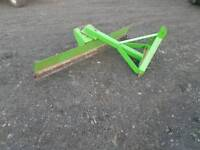 Tractor three point linkage 6ft adjustable grader in excellent condition
