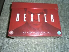 dextor the complete series dvds ex condition