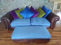 Luxury super large Tetrad sofa