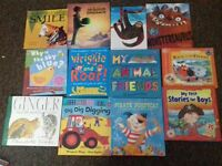 huge lot of 87 kids books