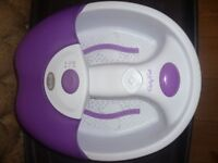 Scholl Foot Spa - Party Feet - In EXCELLENT Condition