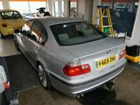 bmw 330d with towbar m sport wheels