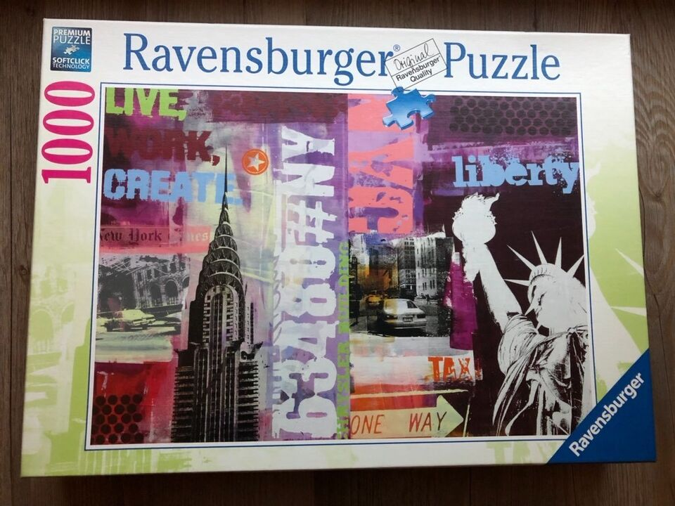 Ravensburger Puzzle 1000 Teile in Geiselberg