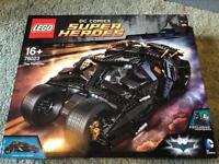 Lego 76023 the Batman Tumbler plus Mr Freeze Polybag