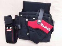 New Makita canvas tool pouch with belt.