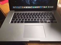 "Macbook Pro Retina 15.4"" Late 2013 i7, 256SSD, 8GB RAM, Iris Pro 5200 Graphics, El Capitan, with Box"