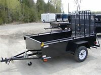 2015 Advantage 4x8 Landscape Trailer